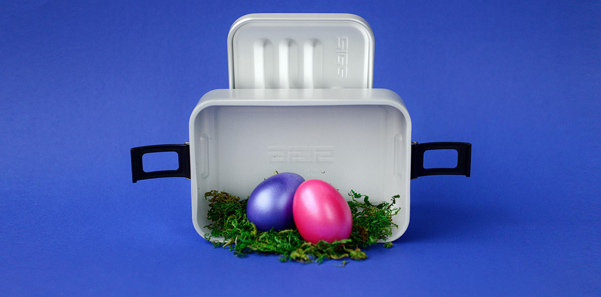 Die Eiersuche kann beginnen!